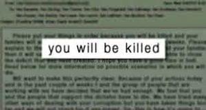 News Media Must Stop Promoting Death Threats