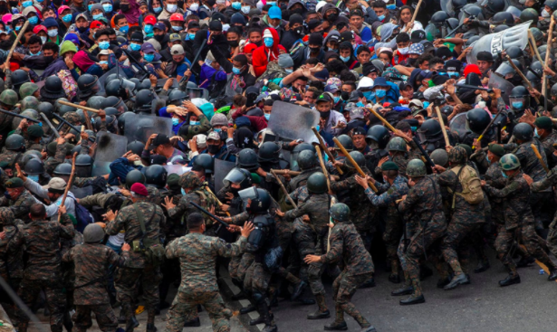 Migrant Caravan Flocks to US as Biden Takes Office