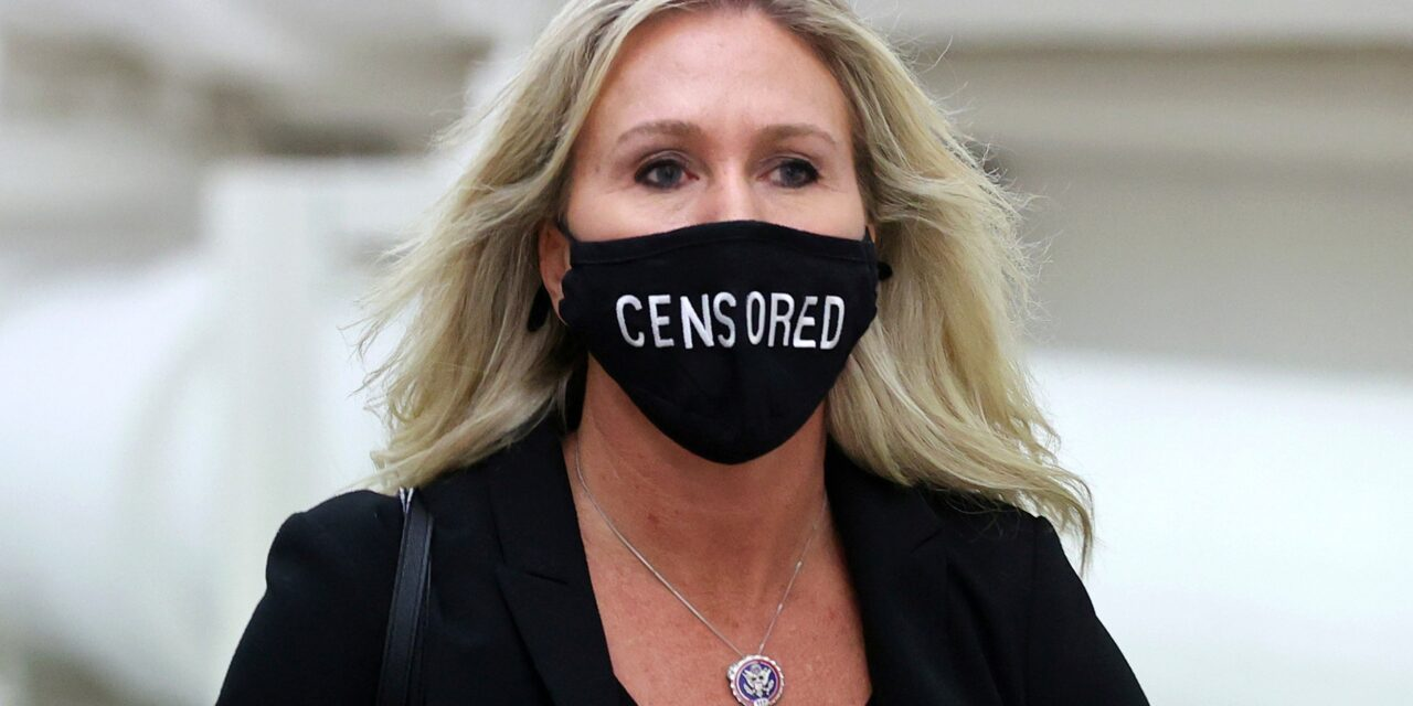 Will Congress Expel Marjorie Taylor Greene?
