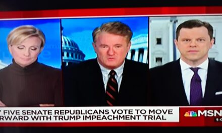 MSNBC Needs to Furlough Joe Scarborough