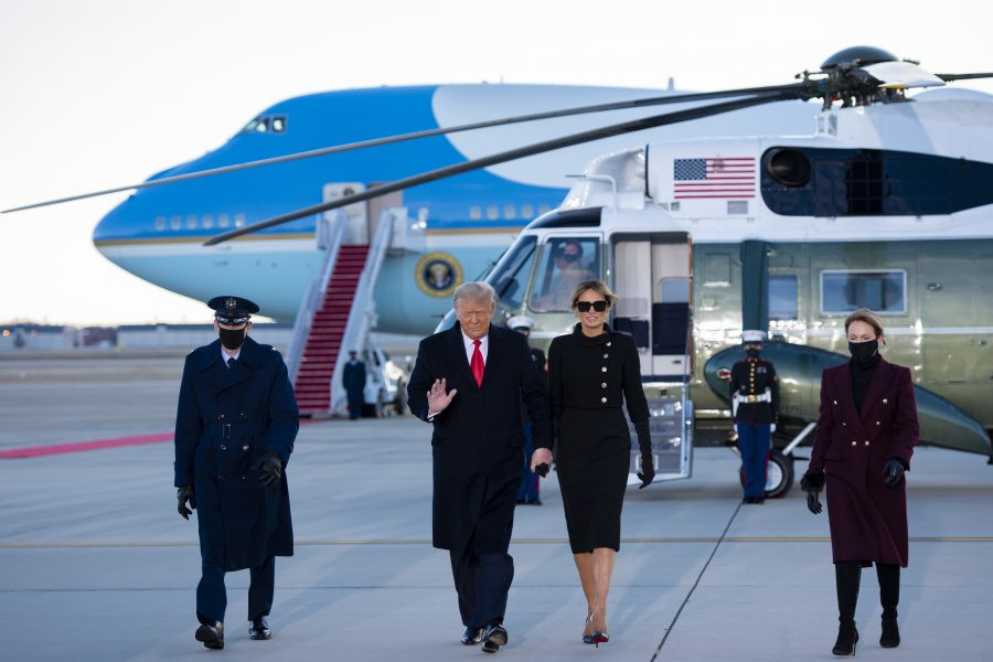 Trump Left Office with Unusual Grace