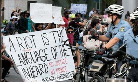 Rioters Never Seek Justice