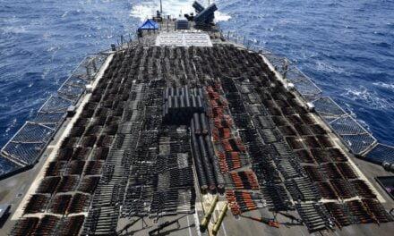 US Navy Intercepts Illegal Iranian Arms Shipment