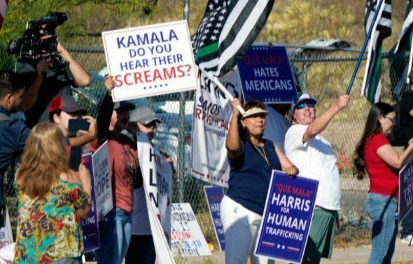 Kamala Harris Goes to the Border – Sort Of