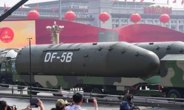 China Threatens to Nuke Japan