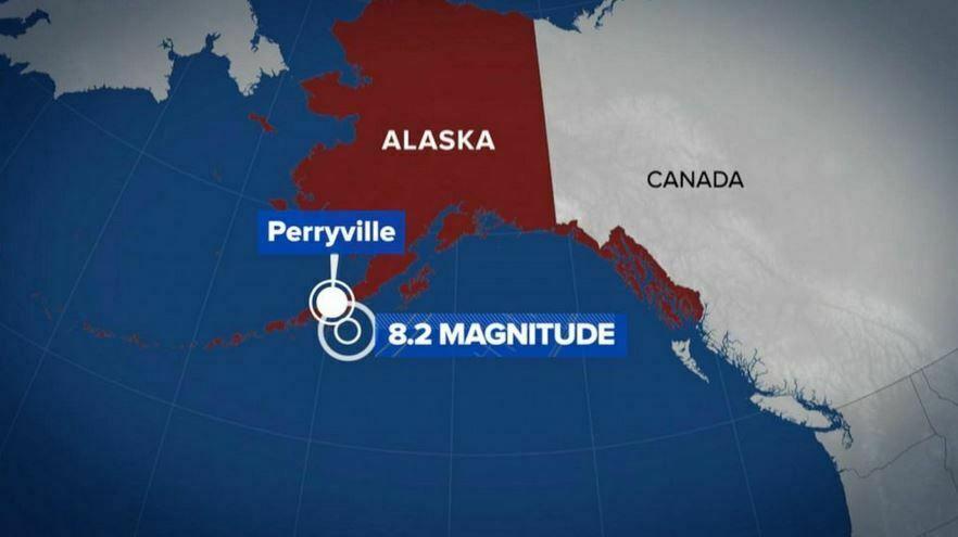 Powerful 8.2 Earthquake Hits Alaska