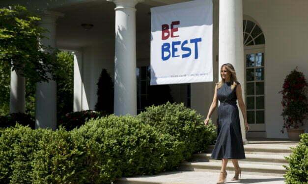 Melania Trump Defends Her Rose Garden Renovations