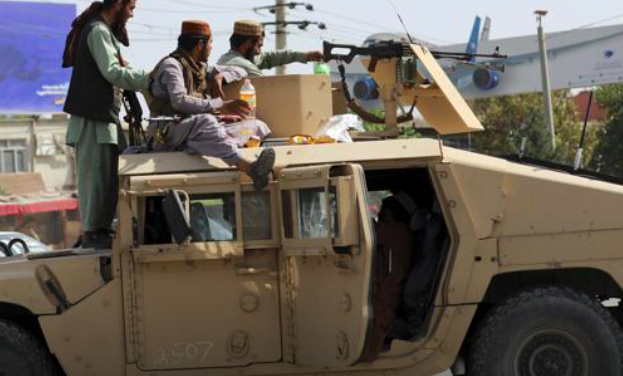 Taliban Armed With American Weapons, Vehicles