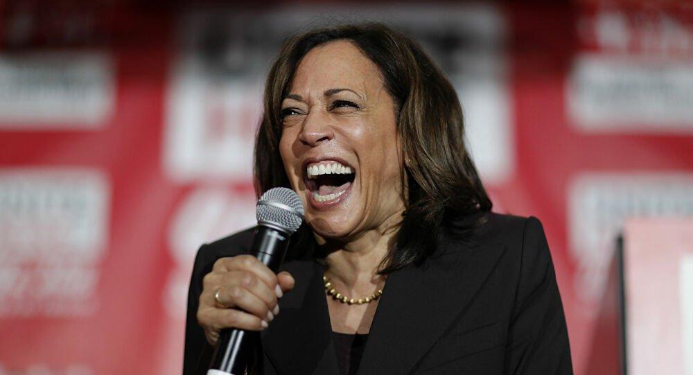 Harris ain't helping Biden, the Democrats or herself YEAH!