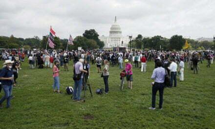 DC mini protest refutes the left's latest big lie