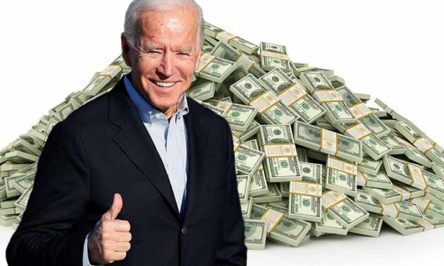 """Biden's """"don't look at the cost"""" strategy"""