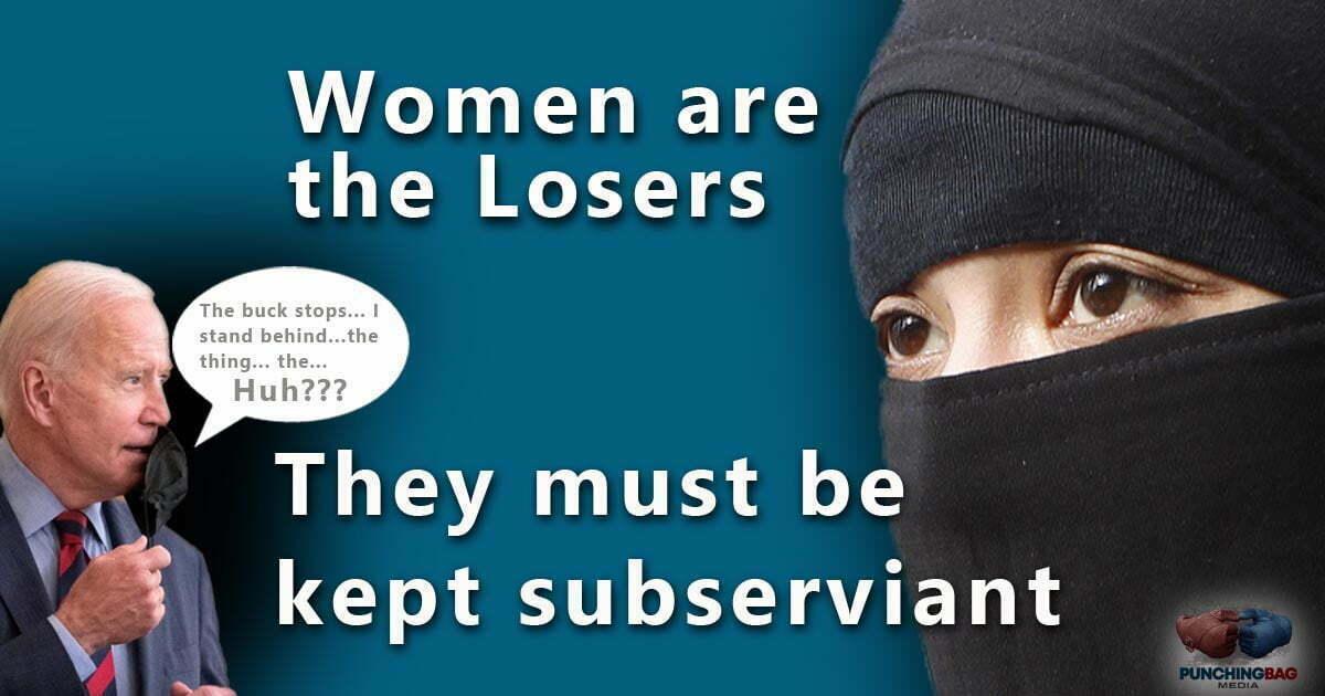 Women Lost in Afghanistan – Thanks Joe