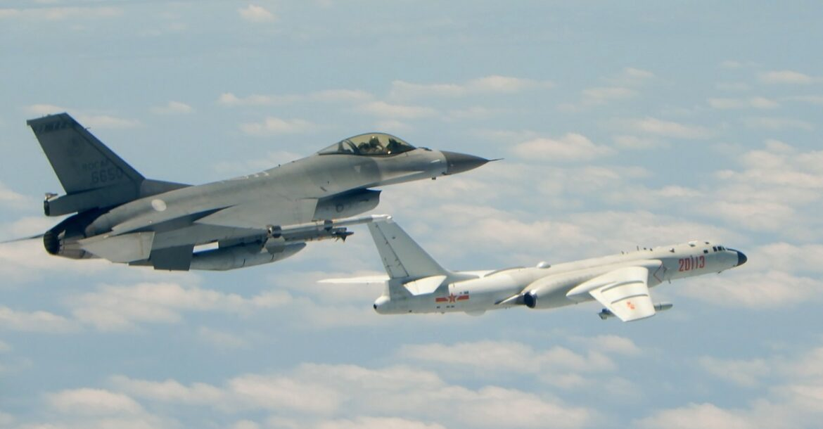 China Conducts Largest Aerial Operation Near Taiwan