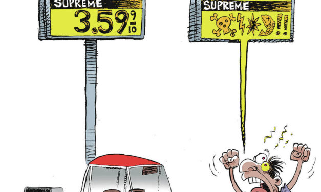 Biden owns gas price hike … and inflation