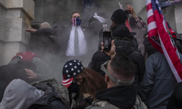 Whistleblower: Capitol Police Chiefs Withheld Intel, Stood Aside During Jan. 6th Riot