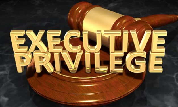 """Whose """"executive privilege"""" is it?"""